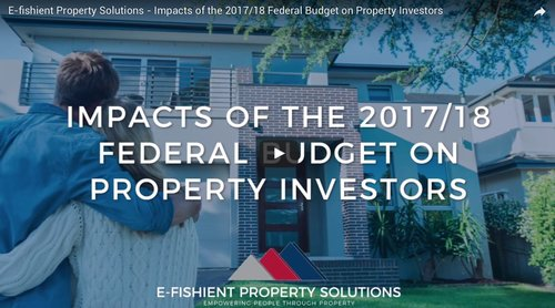 Mini Lesson #3: How The Federal Budget Impacts Property Investors